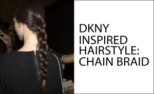 CHAIN BRAID HAIRSTYLE