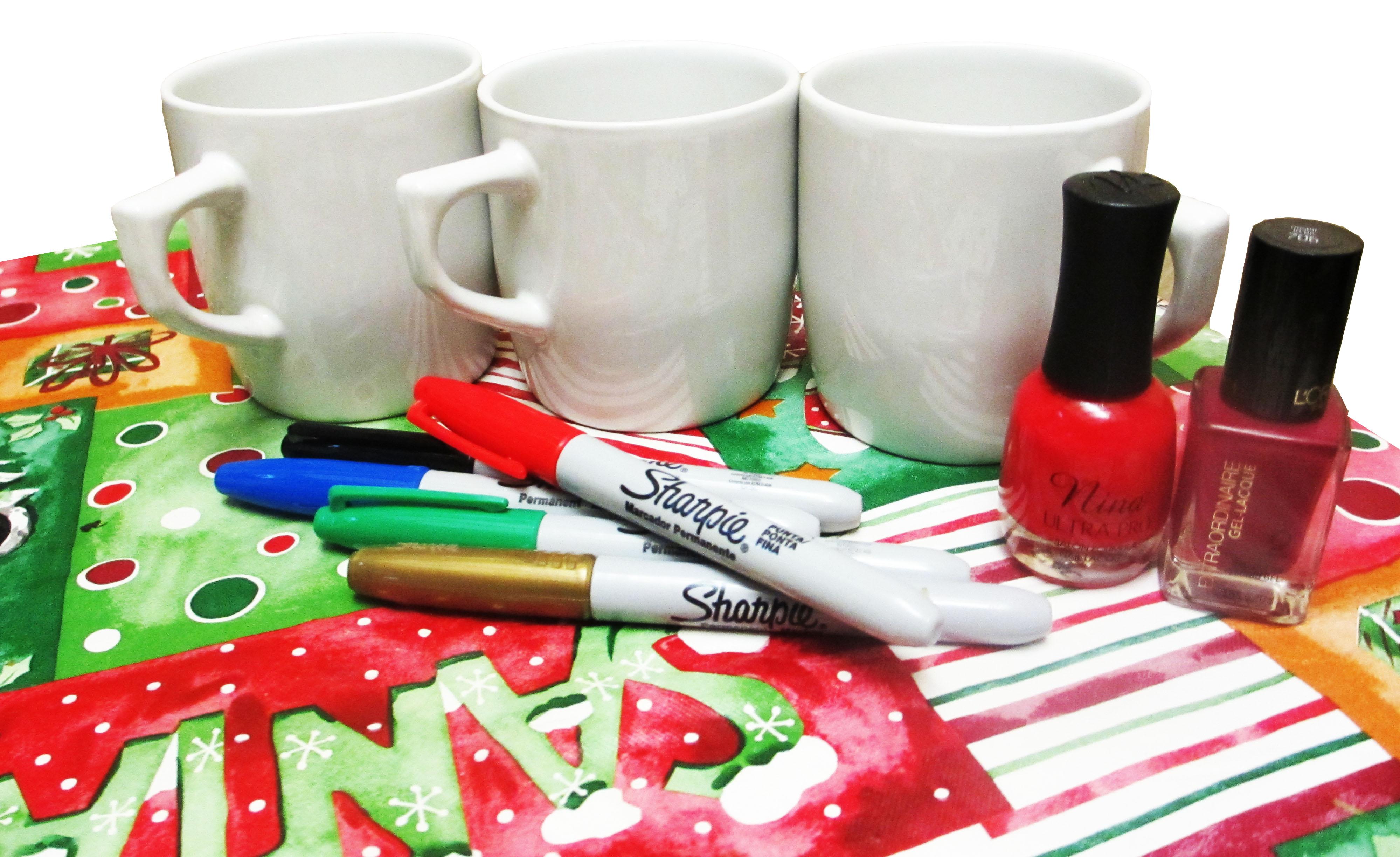 Diy 5 Ideas Para Regalar Tazas Personalizadas En Navidad Myculturee - Opciones-de-regalos-para-navidad