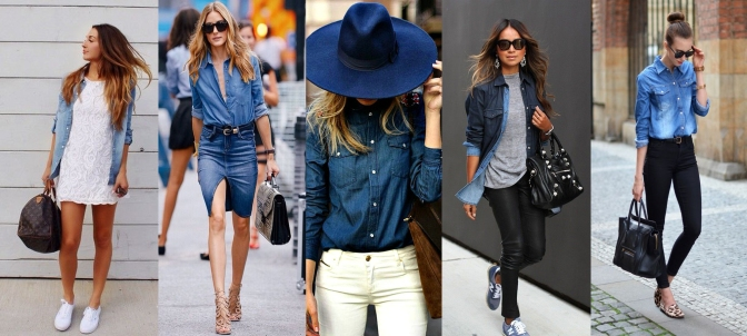 BÁSICOS: DENIM SHIRT!