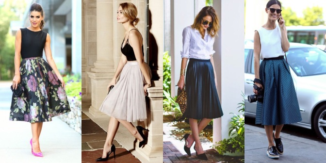 MIDI SKIRT: UN MUST PARA TU GUARDARROPA!!